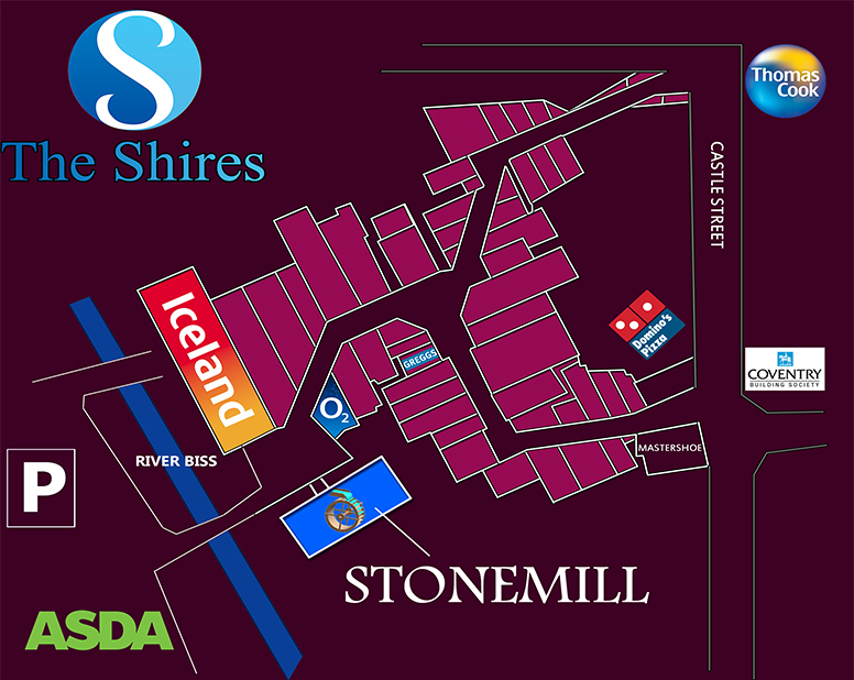 Shires-Map